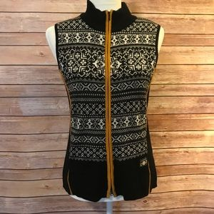 Icelandic full zipper vest